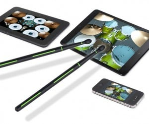 Drummerz Drum Sticks for Touchscreen Devices: Pedal Not Included
