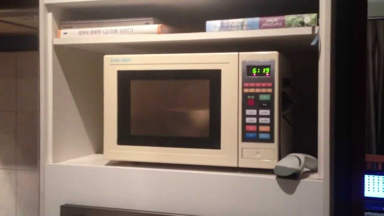 Microwave Supercharged With Raspberry Pi Picrowave