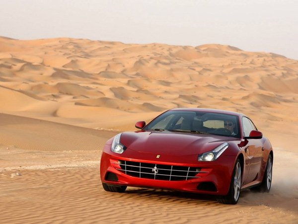 Ferrari FF: A Supercar That Seats Four and Has a Large Trunk