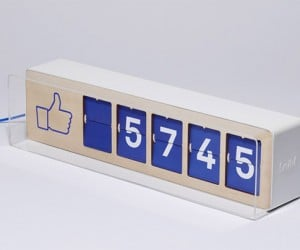 Physical Fliike Counter Shows off How Many 'Likes' You Have on Facebook