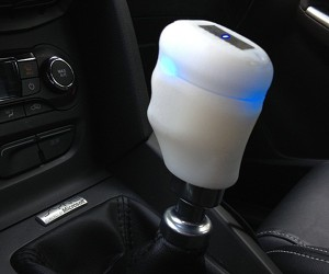 Ford Vibrating Shift Knob Tells Drivers When to Shift: Semi-Automatic Transmission