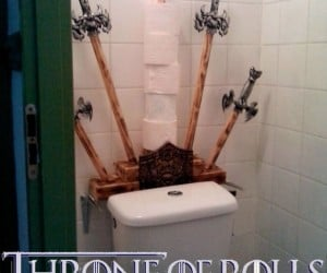 Game of Thrones Toilet Paper Holder, Wiping is Coming