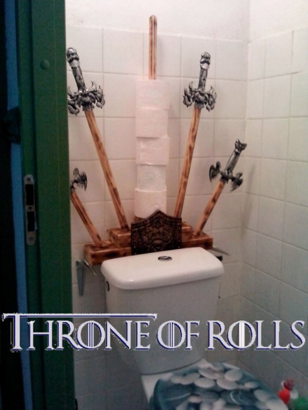 Game Of Thrones Toilet Paper Holder Wiping Is Coming Technabob