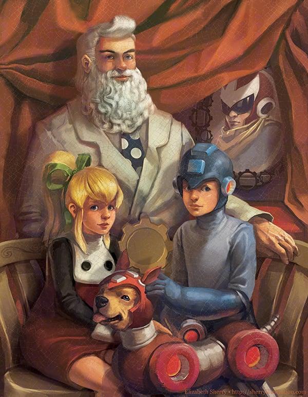 geeky-paintings-by-elizabeth-sherry-2
