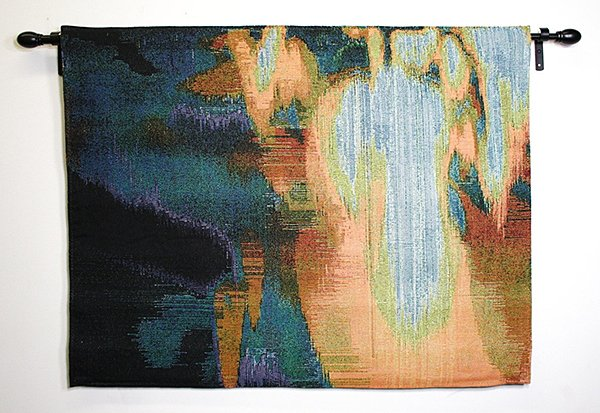 glitch textiles by Phillip Stearns