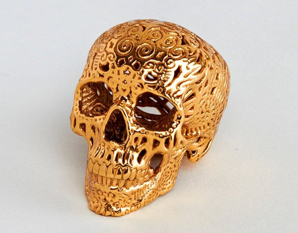 gold plated brass 3d printing 1