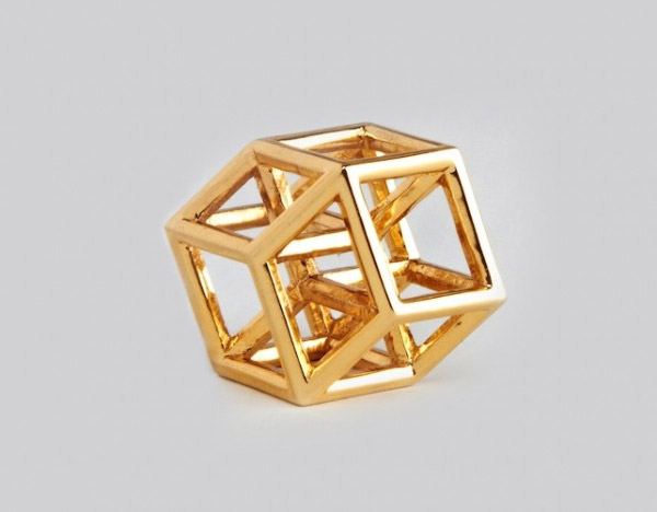 gold plated brass 3d printing 3