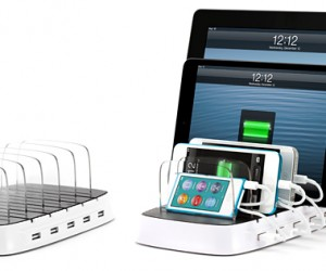 Griffin PowerDock 5 Can Charge 5 iOS Devices at Once: The 21st Century Dinner Table