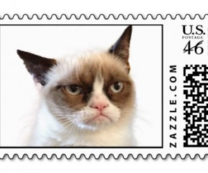 Grumpy Cat Postage Stamps: MemeMailing