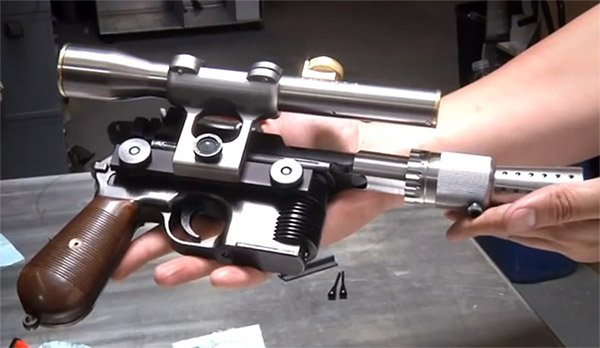 Adam Savage Builds Han Solo's Blaster