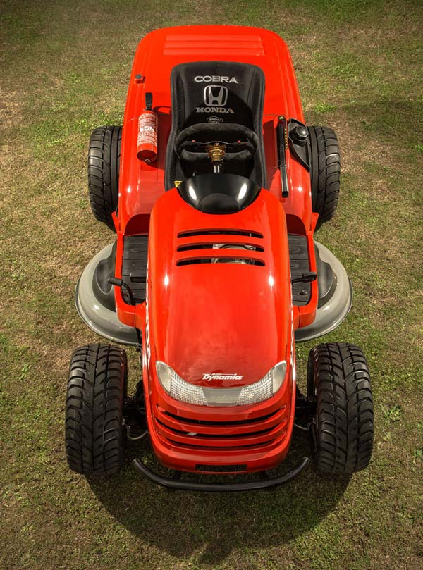 The Honda HF2620 Lawnmower: It's Probably Faster Than Your Car - Technabob