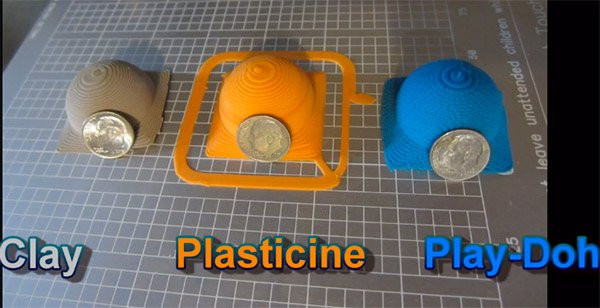 Hyrel 3D Printer Can Print with Play-Doh