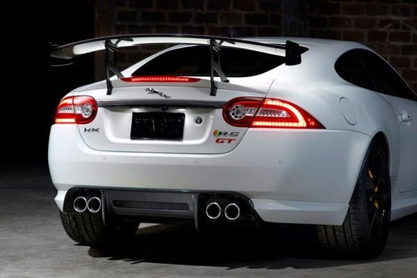 jaguar xkr-s gt supercar back photo