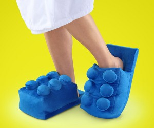 Building Bricks Slippers: Protection from Actual LEGO on the Floor