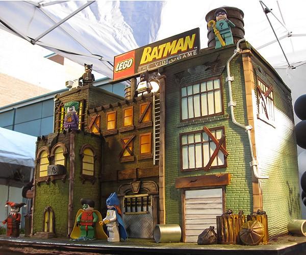 LEGO Batman Cake: The Block Knight Ices