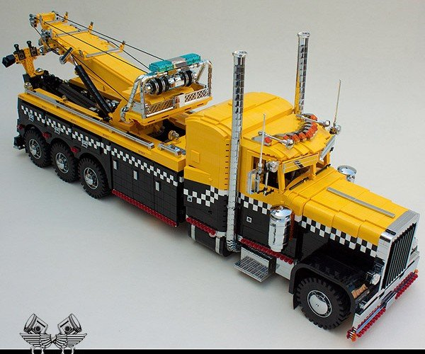 LEGO Peterbilt Tow Truck Probably Could Really Tow LEGO Cars