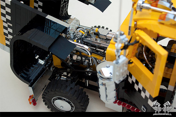 lego peterbilt tow truck 3