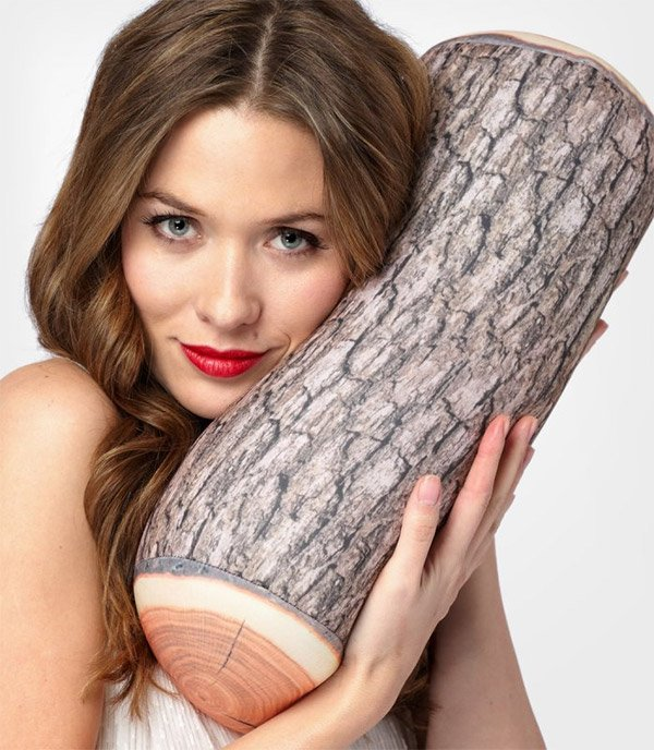 log pillow 1
