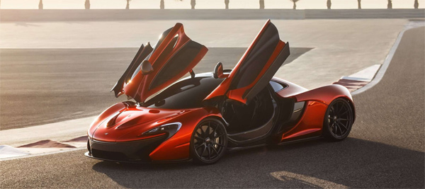 mclaren p1 supercar back front photo