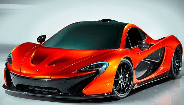 mclaren p1 supercar photo
