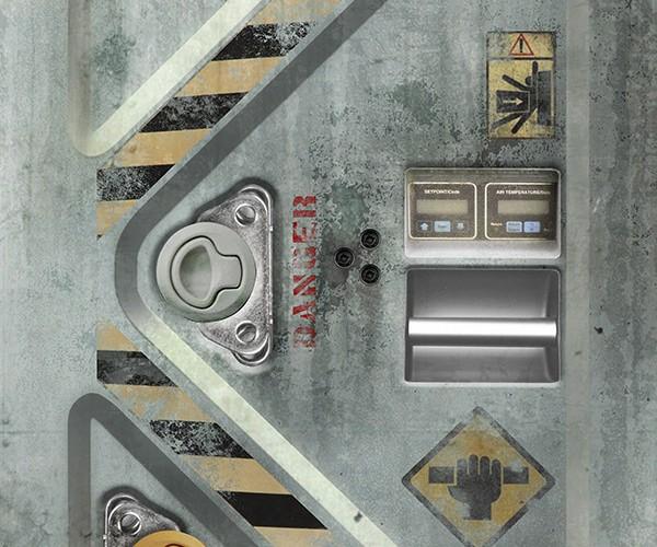Metalcore Vinyl Door Decals Hack To Open