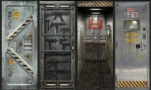 Metalcore vinyl door decals hack to open technabob for Door design lab