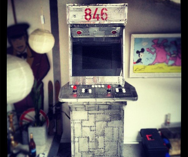 MiG-23 Arcade Cabinet Perfect for Playing Flying Games