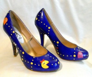 Ms. Pac-Man Shoes: Walka, Walka, Walka