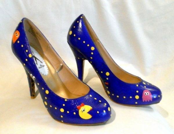 ms pac man shoes