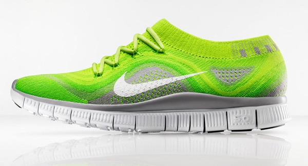 nike free flyknit hyperfeel shoes volt photo