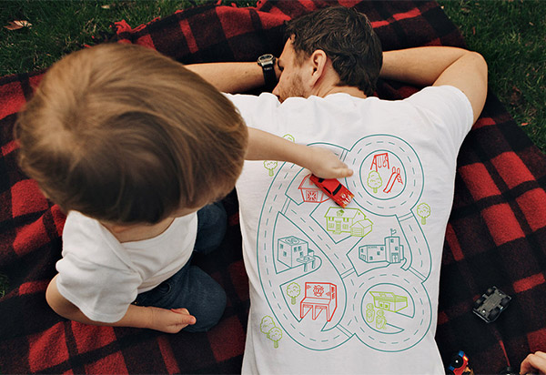 Put Your Kids to Work as Junior Massage Therapists with These Playmat T-Shirts - Technabob