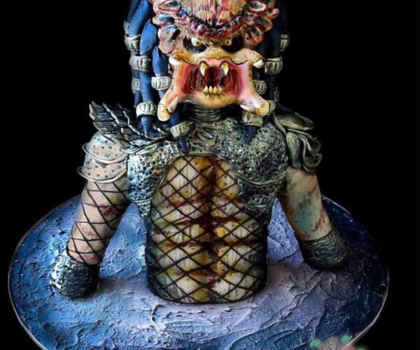 Predator Cake is One Ugly Mother