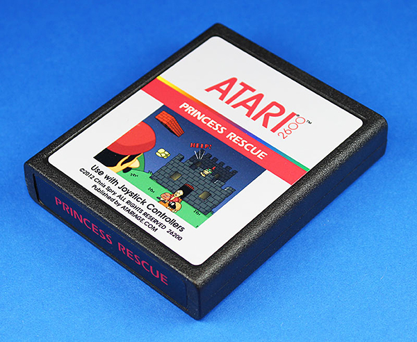 Princess Rescue for the Atari 2600: Sorry Mario, But Our Princess is in Another Console - Technabob