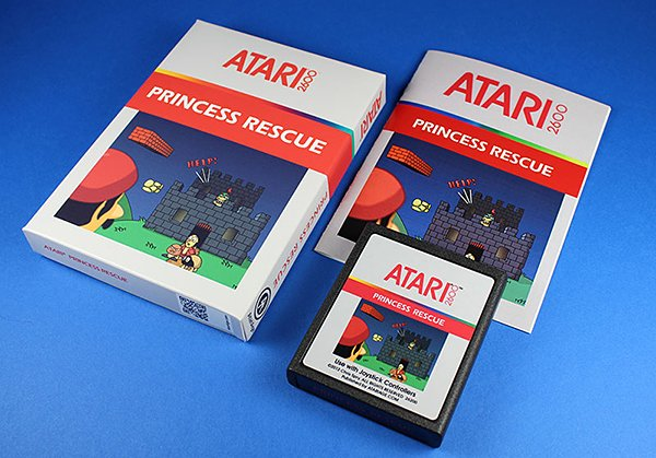 princess rescue atari 2600 mario clone by chris spry