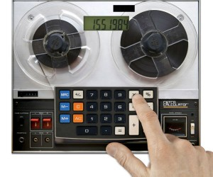 Reel-to-Reel Tape Deck Calculator Does Not Compute
