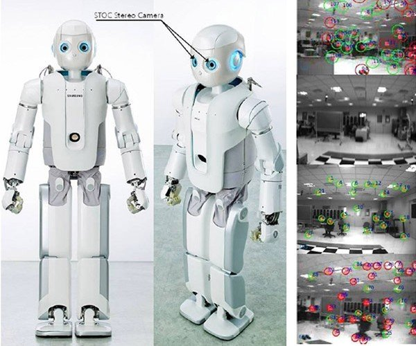Samsung Roboray Robot Maps Its Own Environment and Walks Just Like a Human
