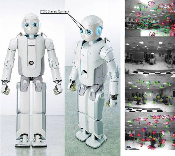 Samsung Roboray Robot Maps Its Own Environment and Walks Just Like a Human - Technabob