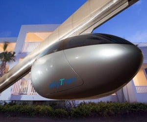 Skytran Magnetically Levitating Mass Transit System: The Future is Coming to Tel Aviv