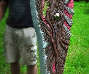 Soul Edge Life-Size Replica Will Consume Your Soul. And Your Shoulders and Your Back.