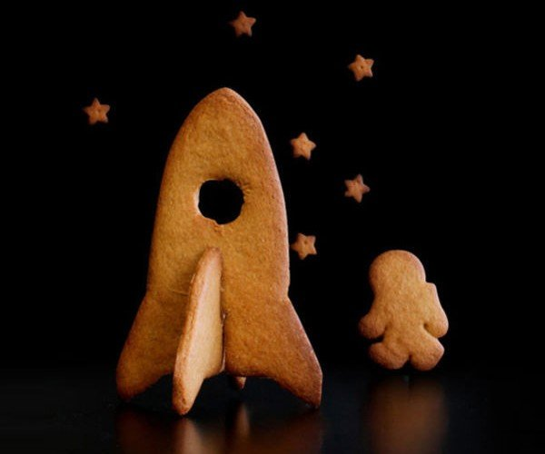 3D Spaceship Cookie Cutters: Houston, We Have a Pastry