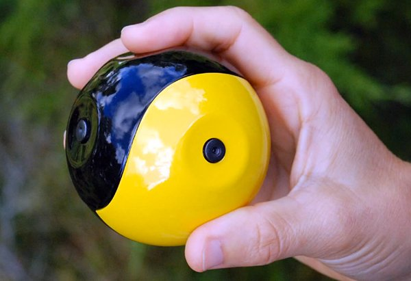 Squito Throwable Ball Camera: Squito! You Shoot Me!