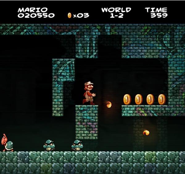 Super Mario Bros Fan Art It S A Me In Hd Technabob