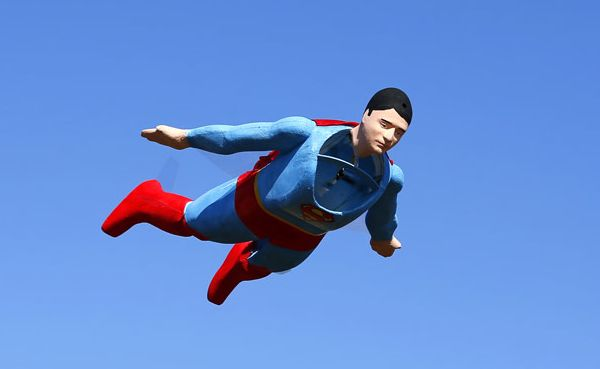 Radio-controlled Superman Spotted in the Skies of San Diego