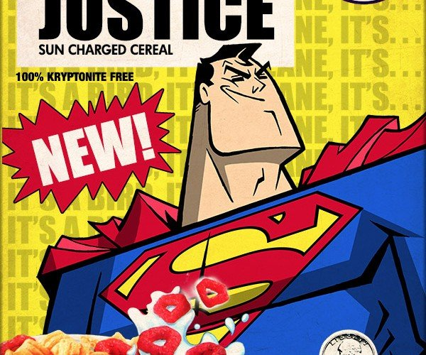 Superman Cereal: Part of a Nutritious Breakfast (on Krypton)