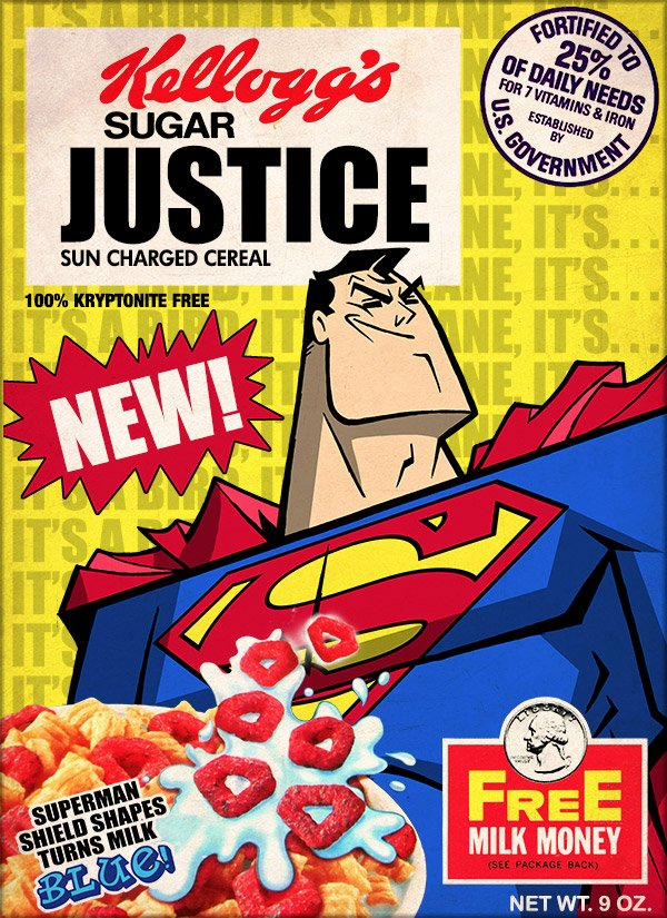 superman cereal 1