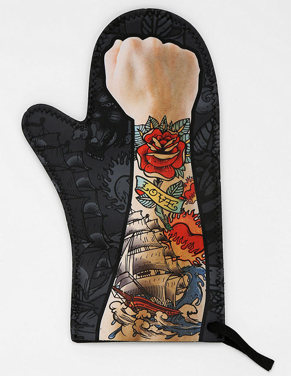 tattoo oven mitt 2
