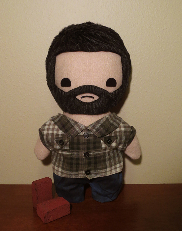 the last of us joel and ellie plushie by viciouspretty 2