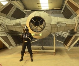 German Fans Build Darth Vader's TIE Fighter