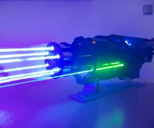 Laser Minigun: Team Fortress 2: Blood Dragon