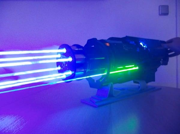 Laser Minigun: Team Fortress 2: Blood Dragon